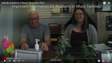 Music Lesson Video Update December 2019